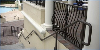 Railing Channel & Cover Plates; Pipe Brackets