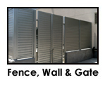 Fence, Wall & Gate